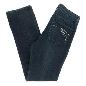NYDJ Jeans Straight Lift Tuck Technology 8 29X31